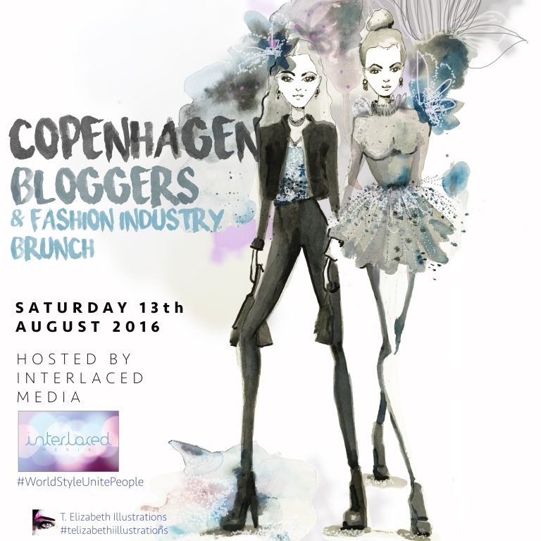Copenhagen Bloggers and Fashion Industry brunch invitation